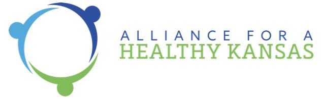 Alliance for a Healthy Kansas logo