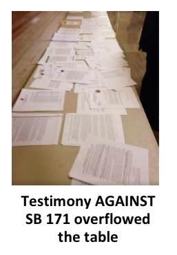 Overflowing testimony