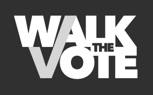 Walk the Vote logo