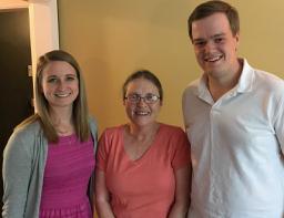 Three of our dozen summer 2017 interns