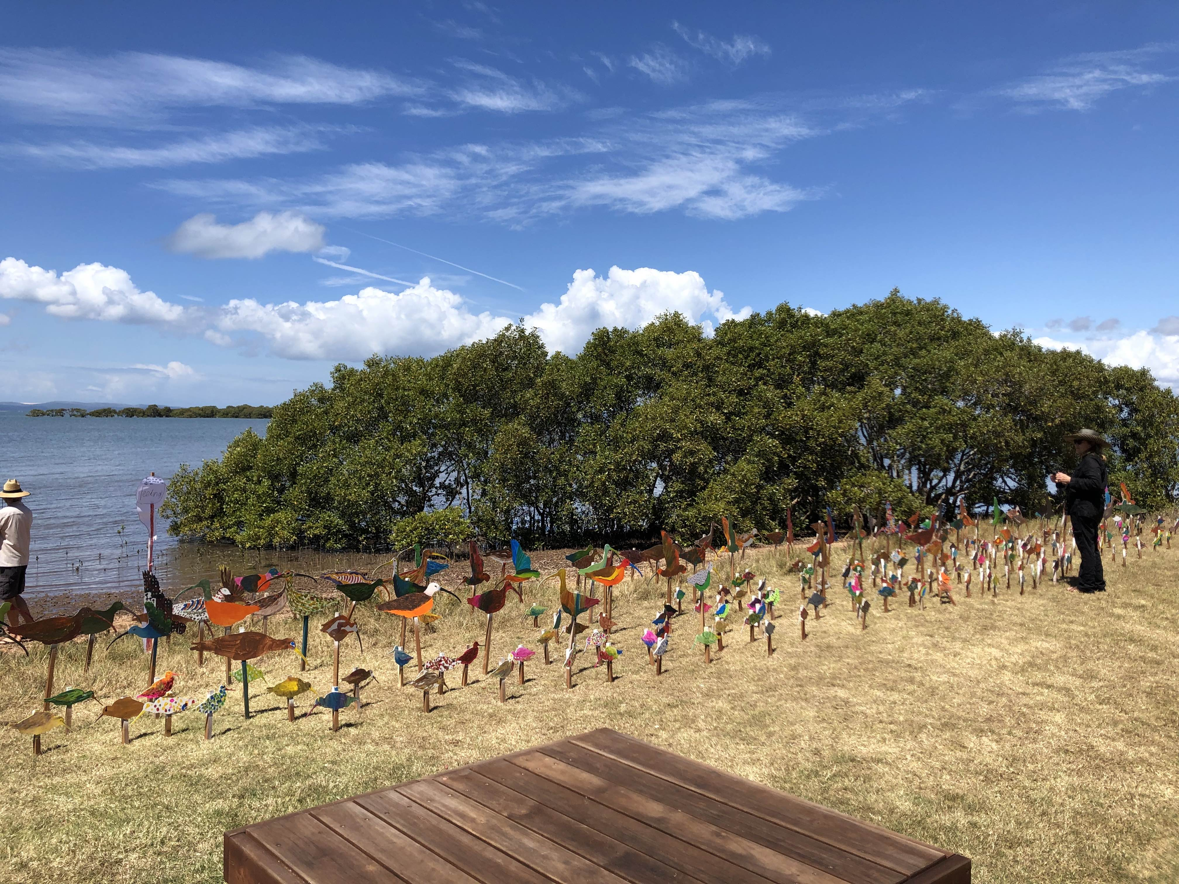 A private developer wants to build 3,600 apartments on the water here at Moreton Bay | I'm supporting locals' fight to save this precious wetland