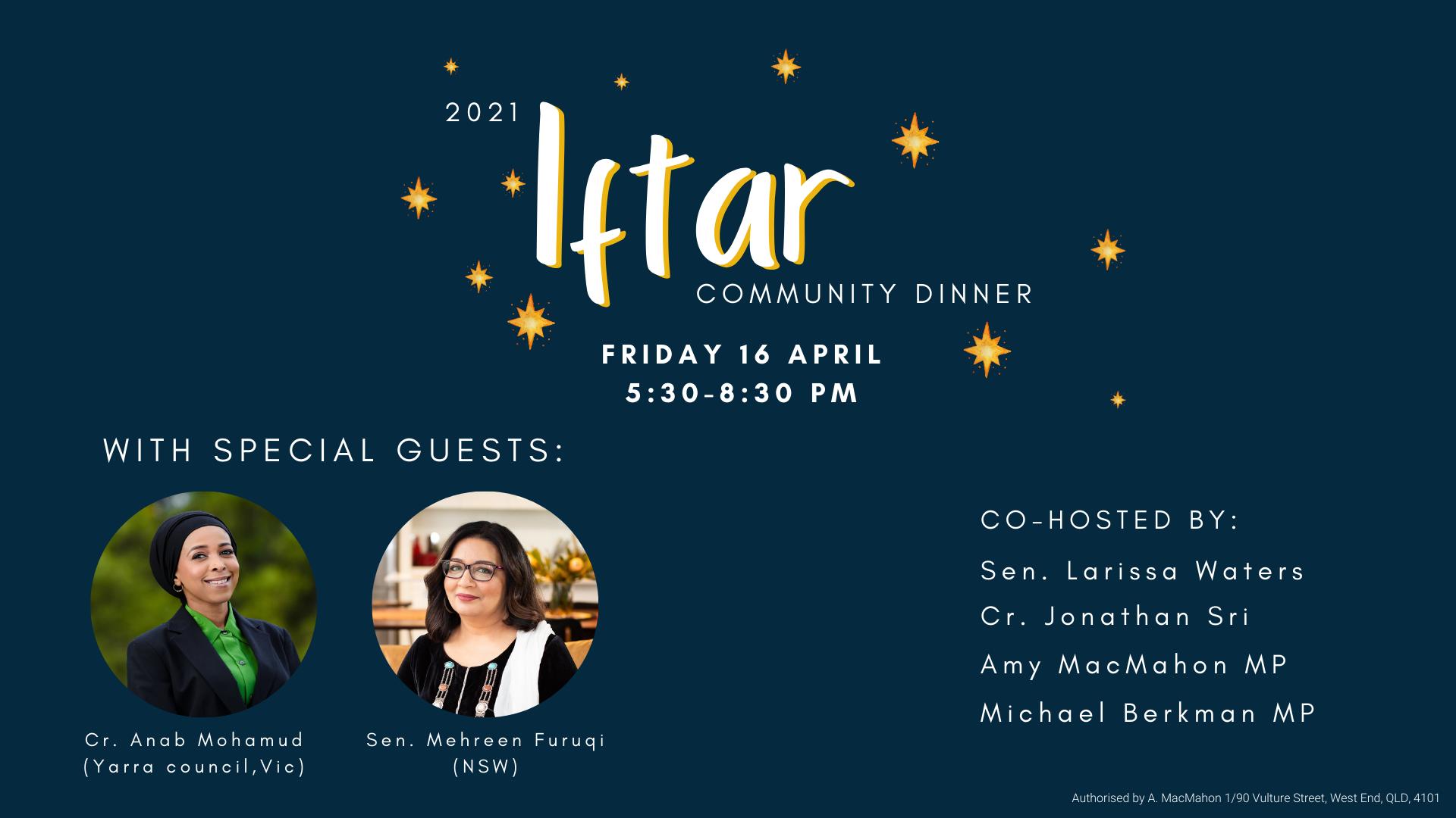 Iftar dinner 2021