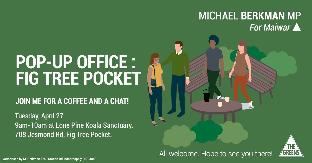 pop up office fig tree pocket