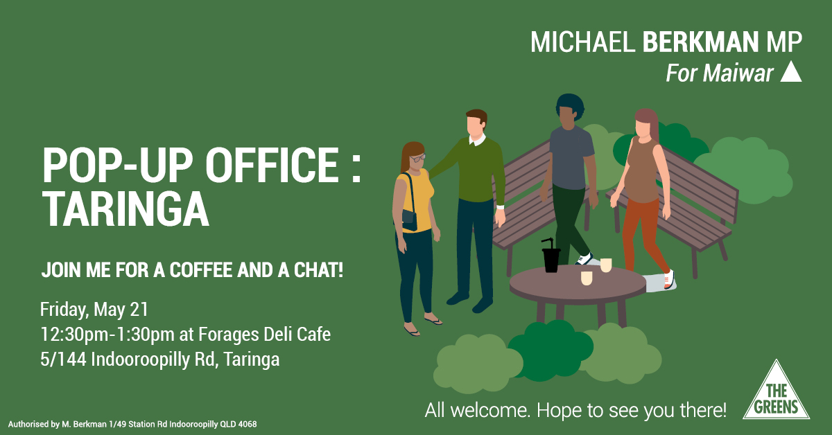 pop up office taringa