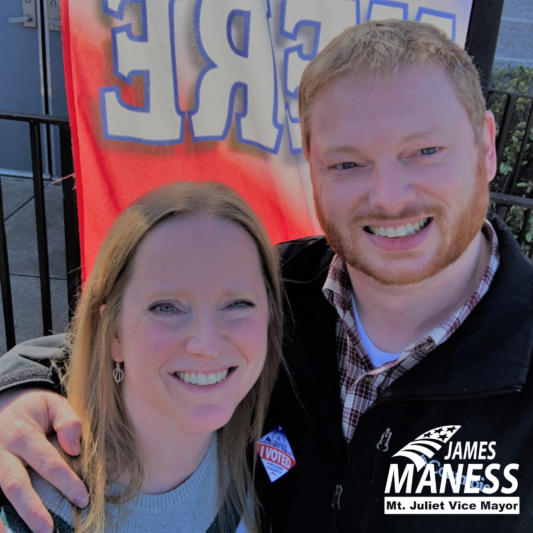James and Tracy Early Vote
