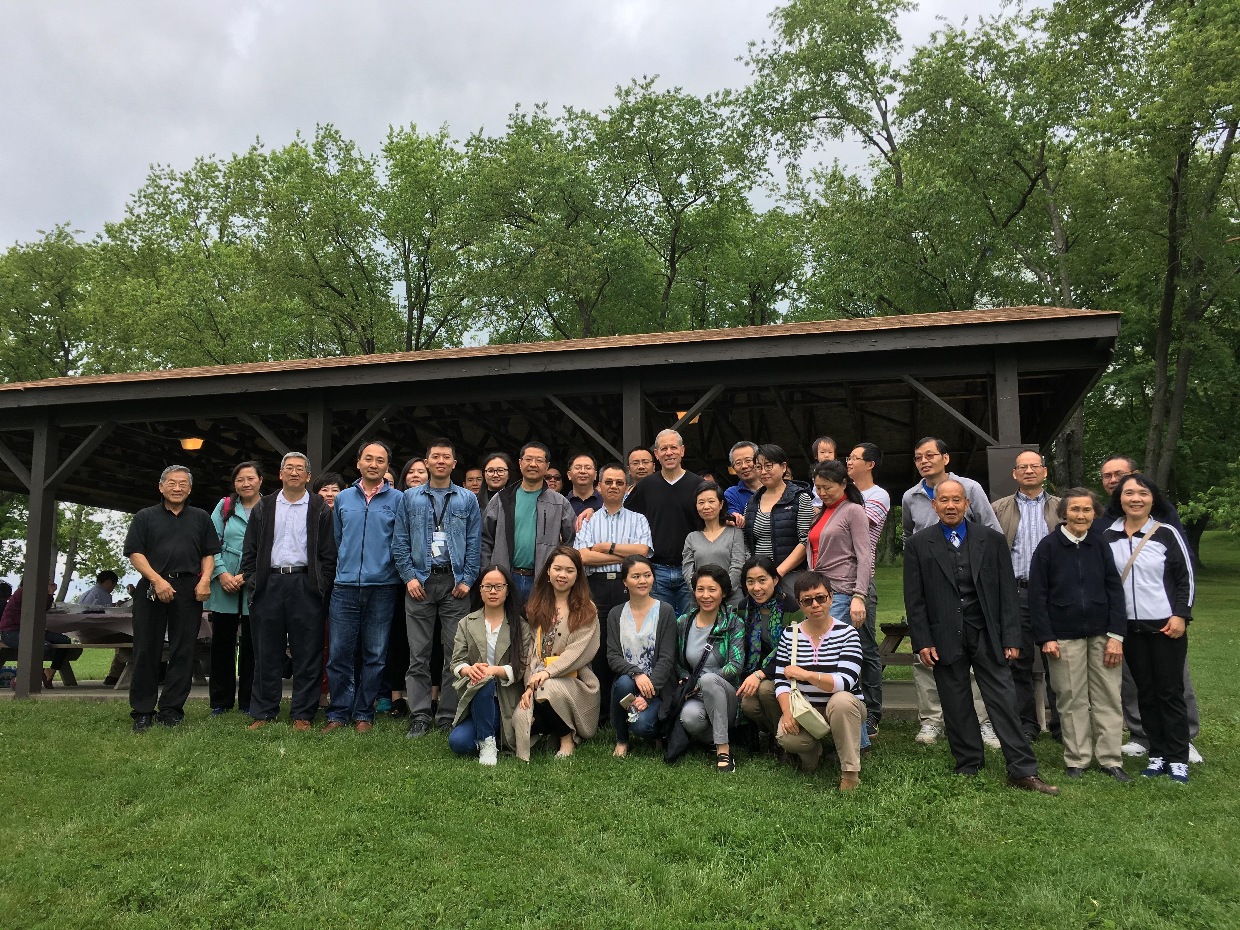 Group at the Asian GOP Picnic