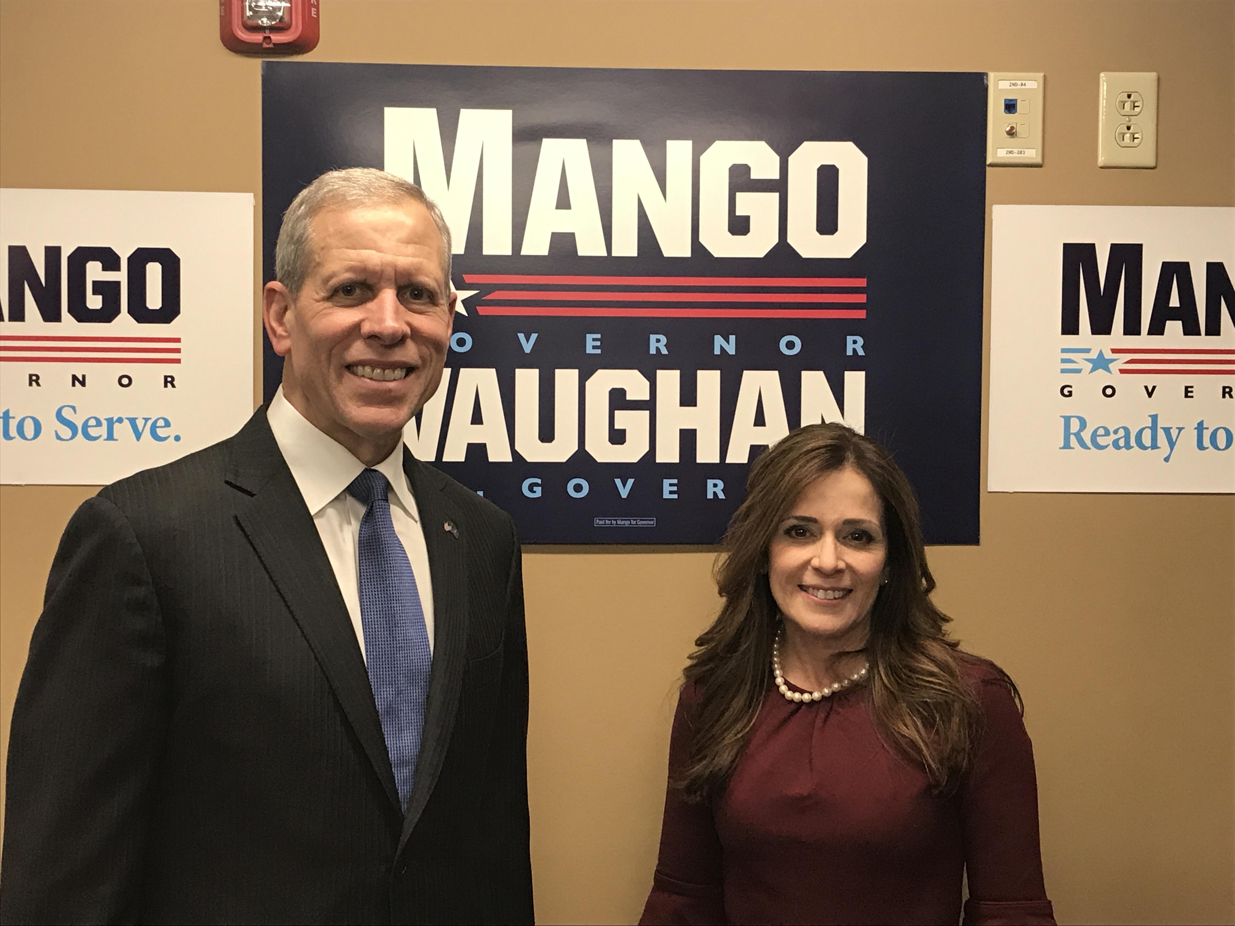Paul Mango and Diana Irey Vaughan