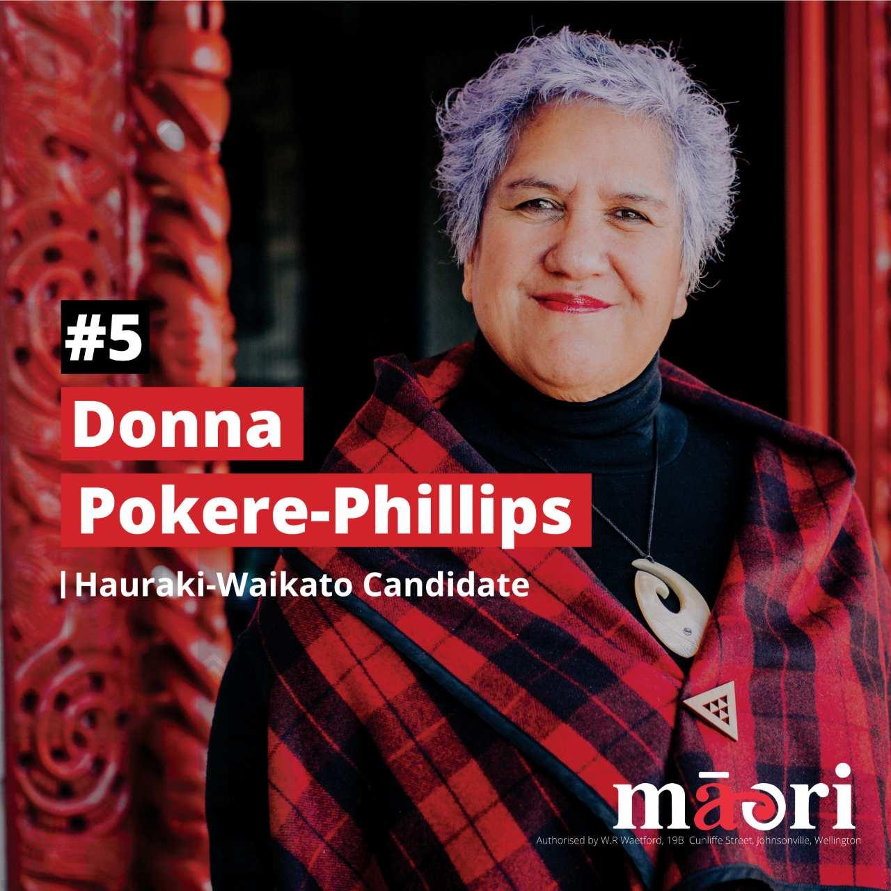 Donna Pokere-Phillips, Hauraki-Waikato Candidate
