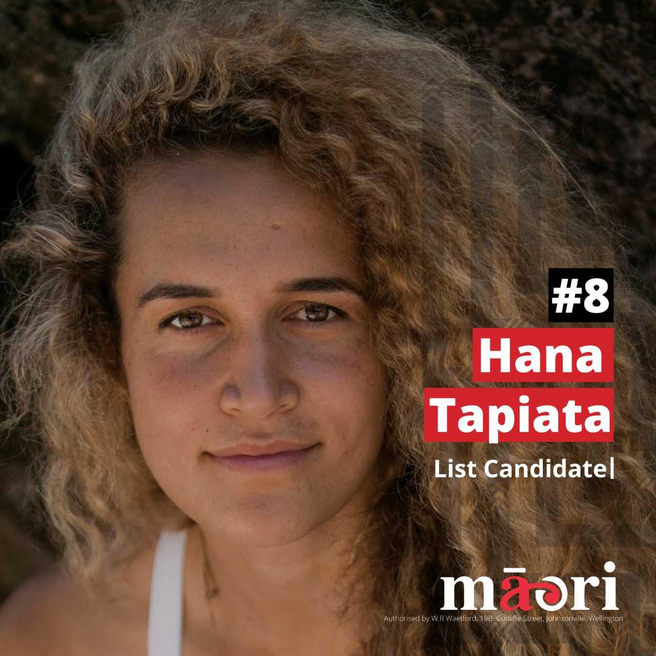 Hana Tapiata, List Candidate