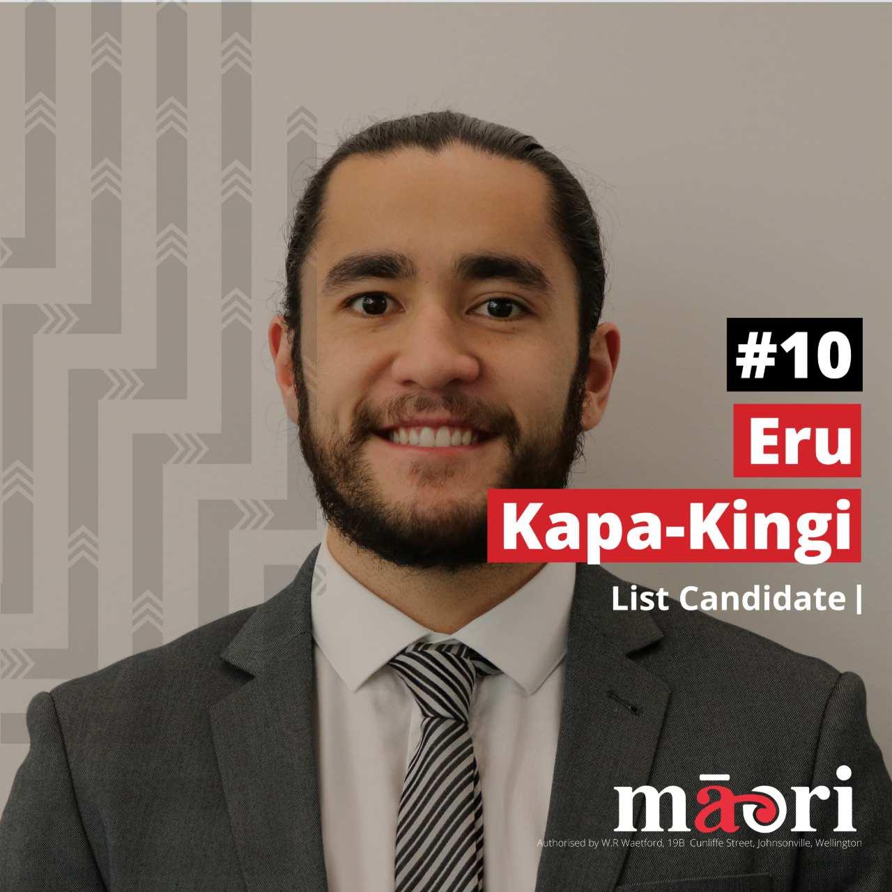 Eru Kapa-Kingi, List Candidate