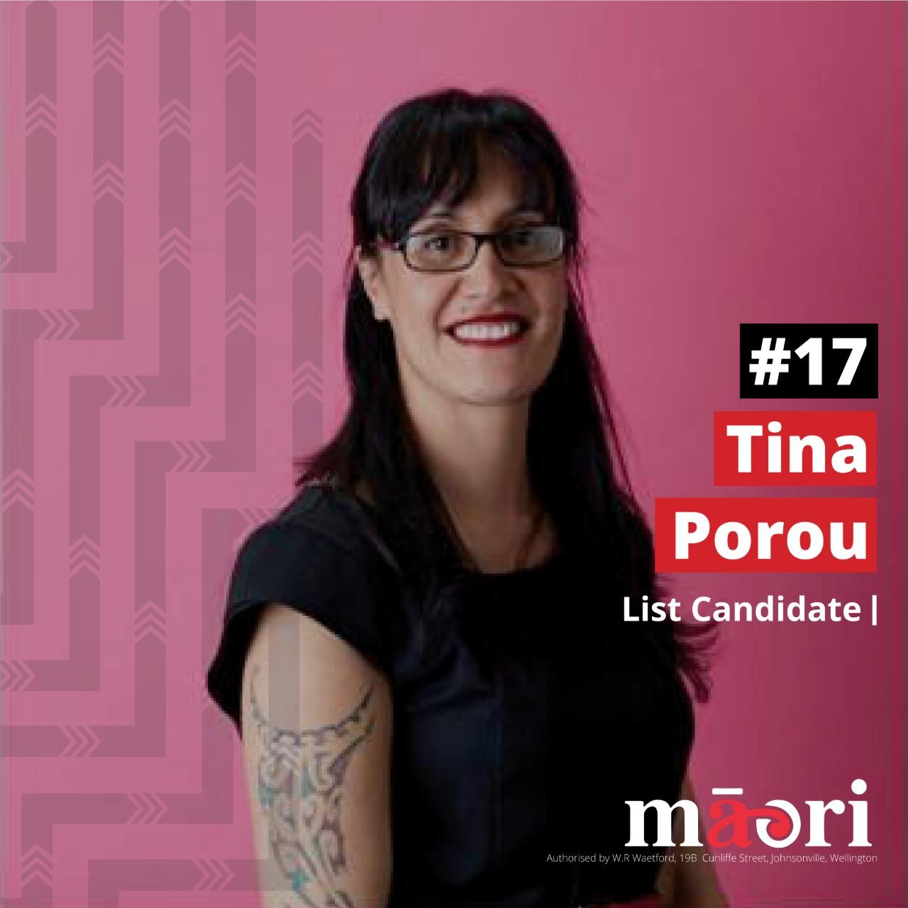Tina Porou, List Candidate