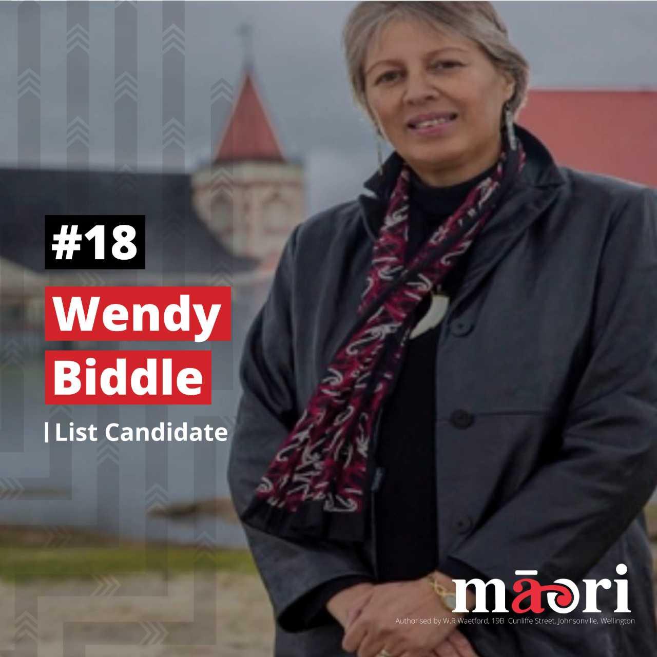 Wendy Biddle, List Candidate