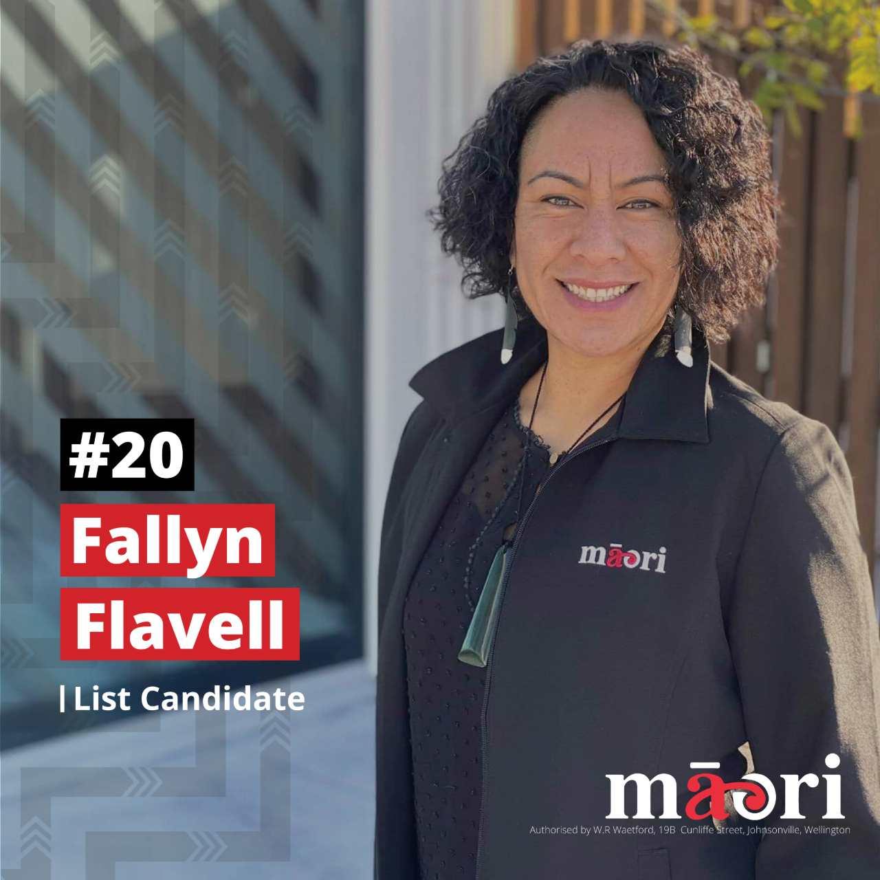 Fallyn Flavell, List Candidate