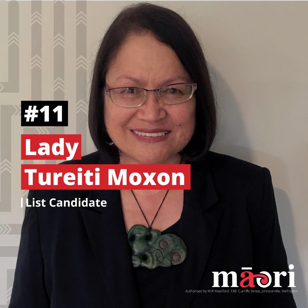 Lady Tureiti Moxon, List Candidate