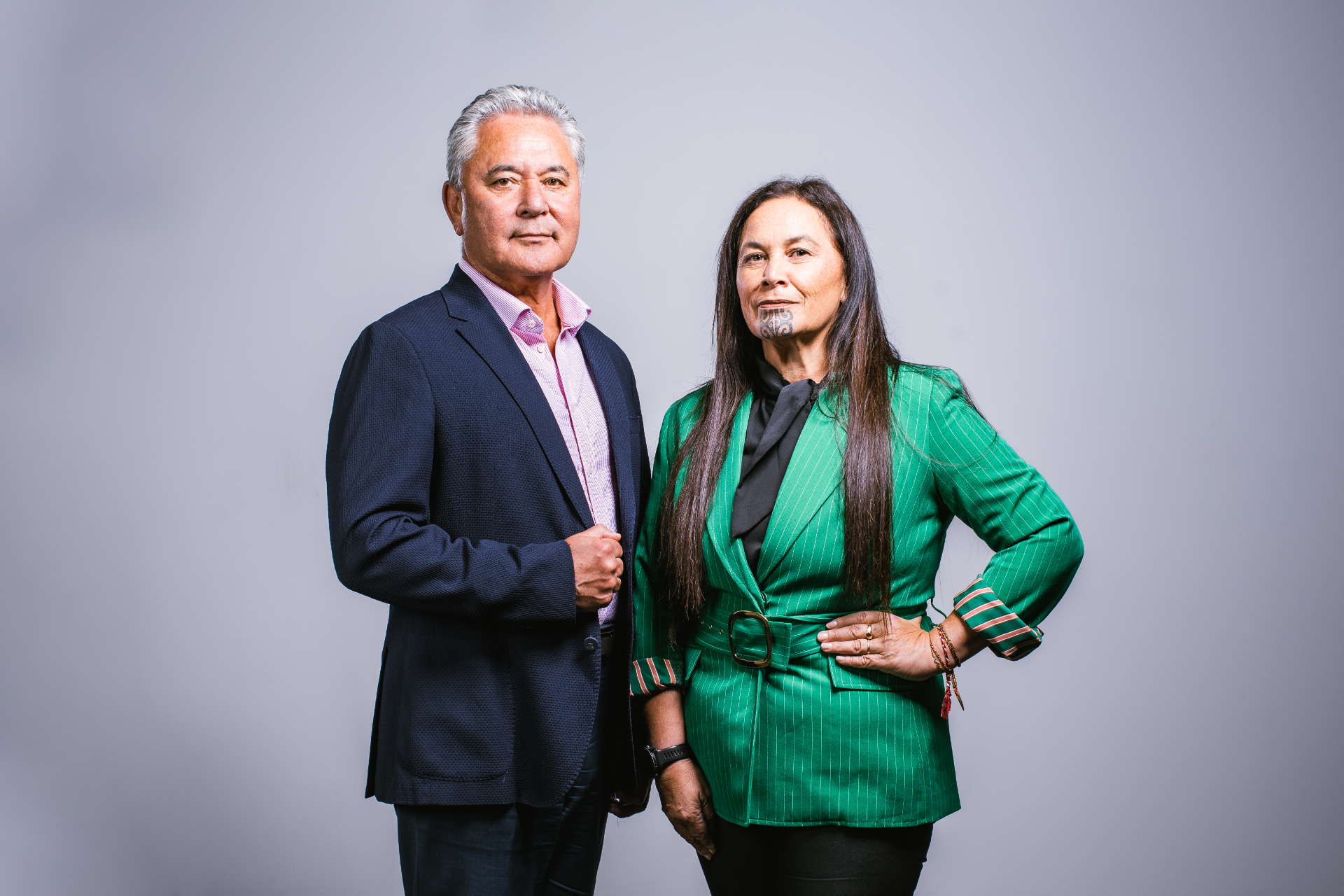 Co-leaders John Tamihere and Debbie Ngarewa-Packer