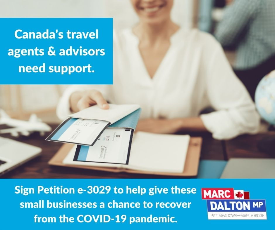 Supporting the Travel Industry: Petition e-3029