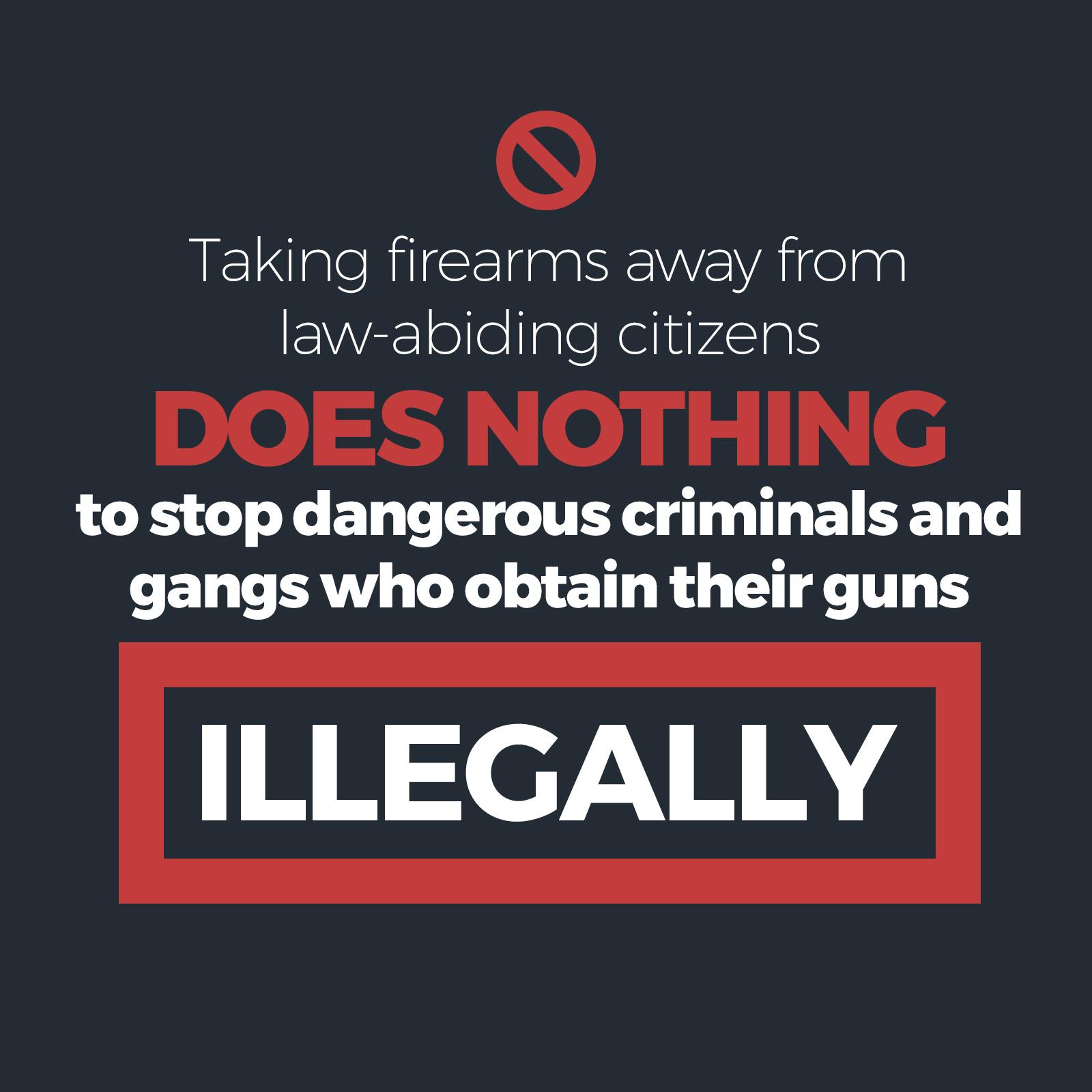 Conservative statement on the Liberals' firearms legislation
