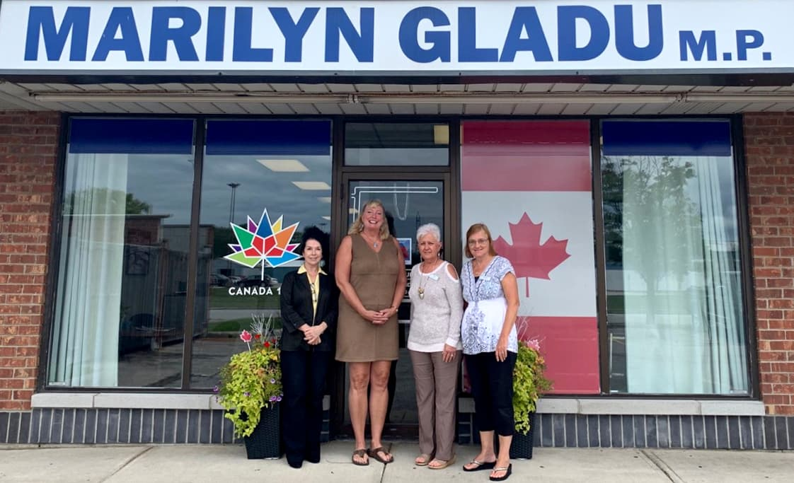 Sarnia Constituency Office nominated for outstanding customer service