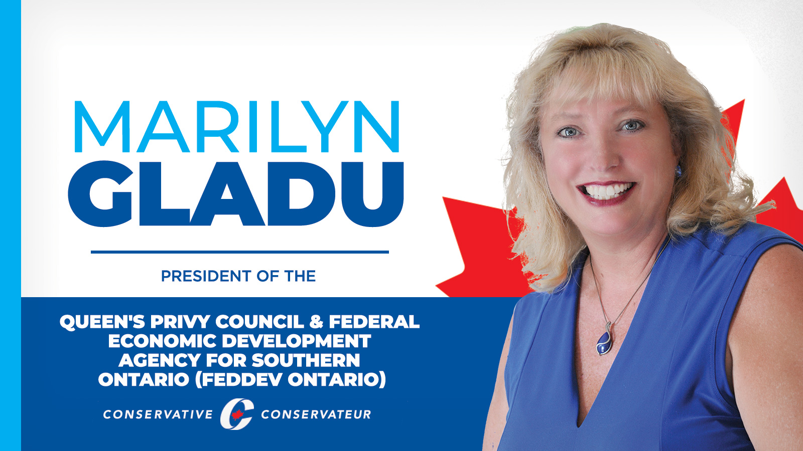 PRESS RELEASE: MP Marilyn Gladu named to the new Shadow Cabinet of the Conservative Party of Canada