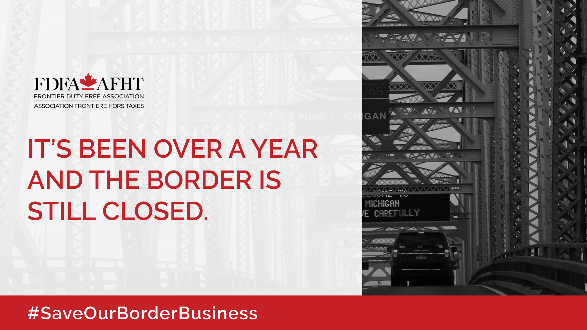 PRESS RELEASE: MPs across party lines call for support for Duty Free businesses on Canada-U.S. border