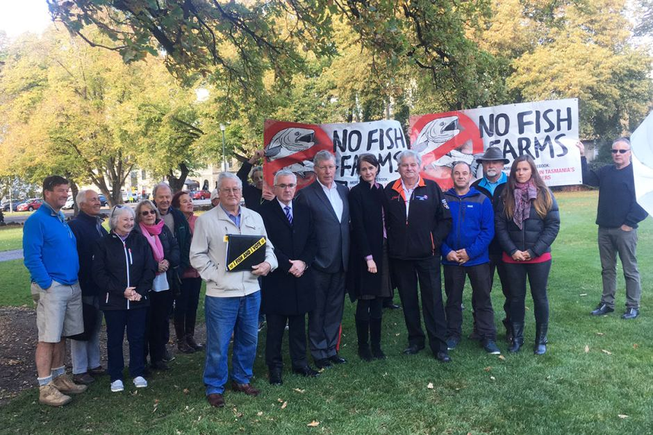 Locals and fishers, conservatives and progressives unite against Tassal's fasttrack development