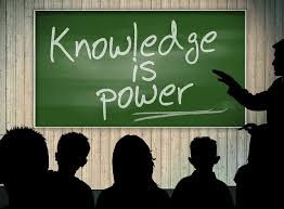 Gain knowledge; gain power