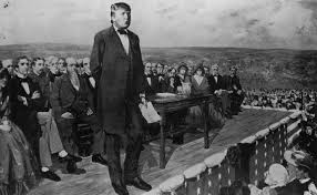 Trump as Lincoln at Gettysburg