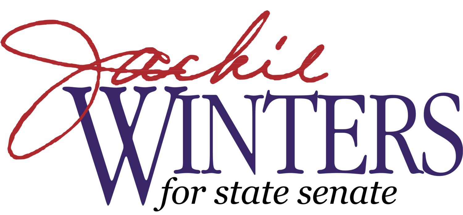 Jackie Winters for Senate logo