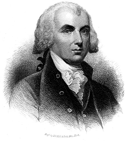 James Madison - 4th president of the U.S.