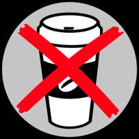 no cup