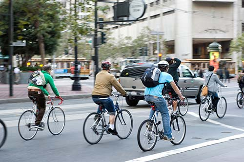 Improving Bicycle and Pedestrian Safety