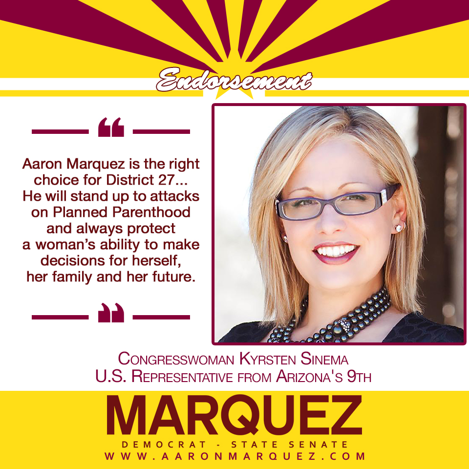Sinema Endorsement