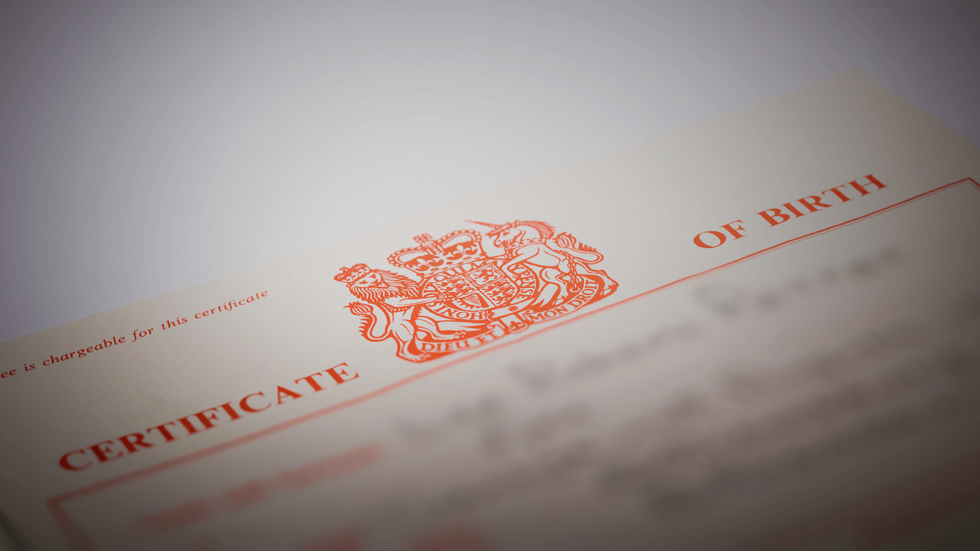 birth certificate marriage