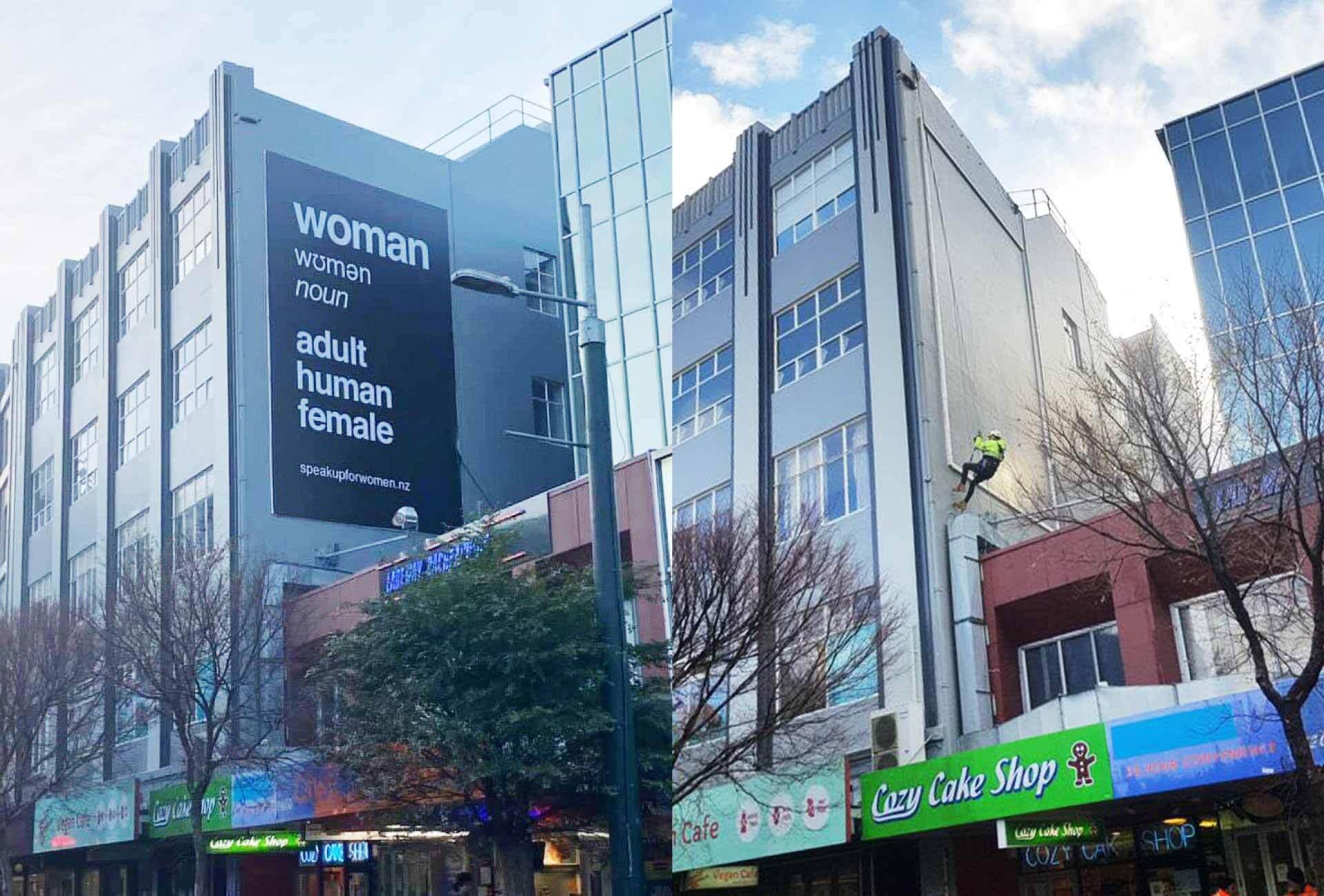 Censoring women in New Zealand