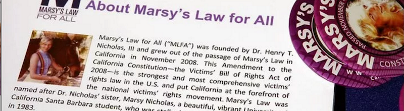 MARSY'S LAW PASSES OVERWHELMINGLY IN NORTH DAKOTA, SOUTH DAKOTA & MONTANA