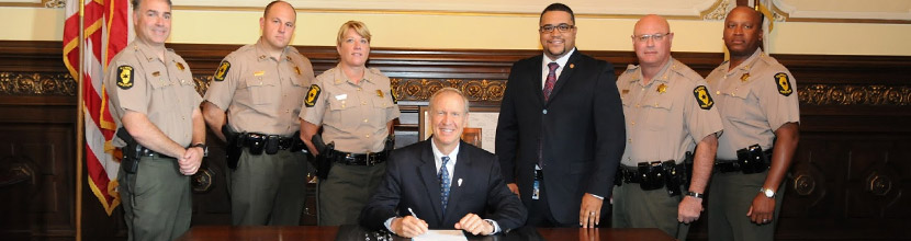 Governor Rauner Signs Marsy's Law Into Law
