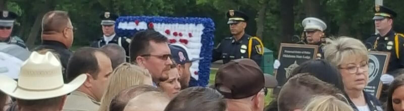 Remembering The Fallen and Partnering With Law Enforcement