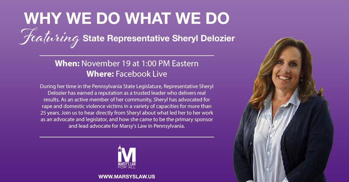 State Representative Sheryl Delozier