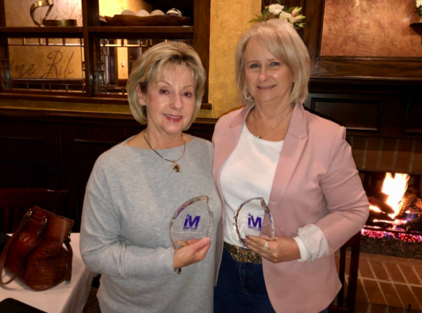Joan Berry and Tina Gregg
