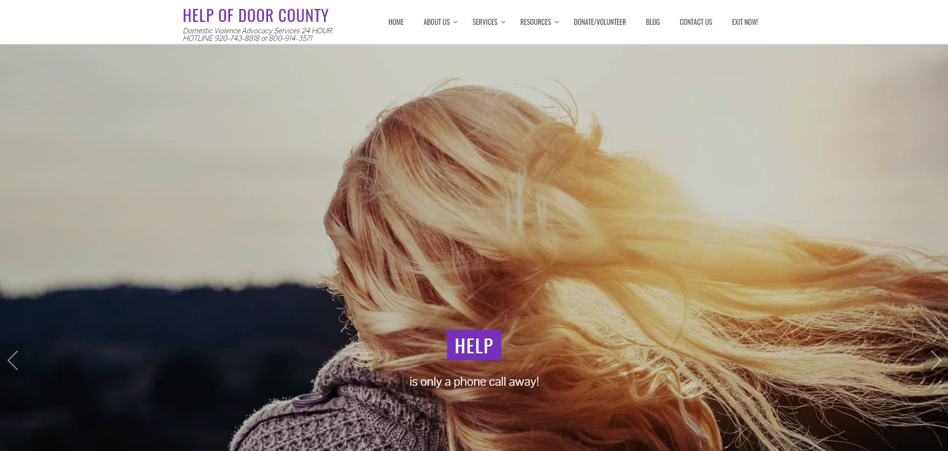 HELP of Door County Supports Victims' Rights