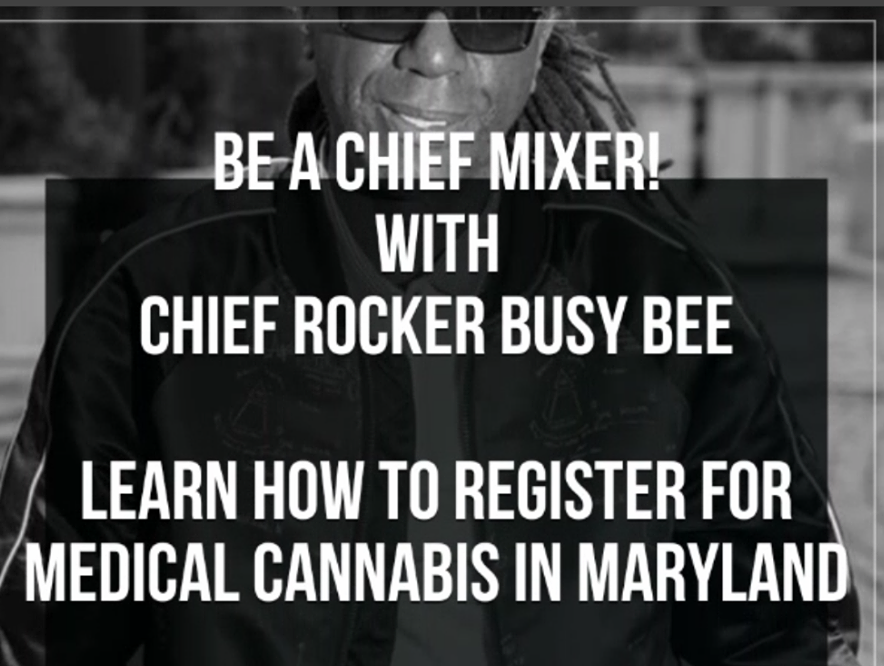 Be A Chief Mixer<br> and Maryland NORML Food Drive