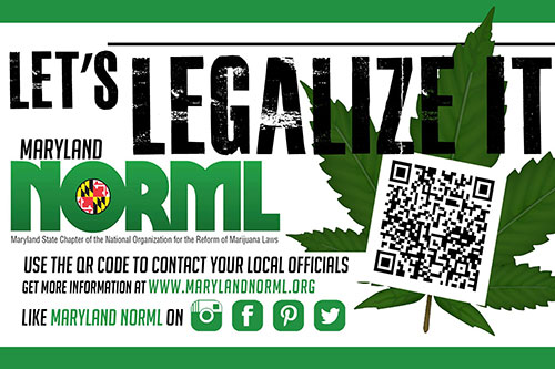 Connect & Advocate: <br> Volunteer for Maryland NORML!