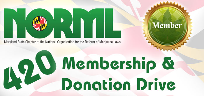 Maryland NORML Membership Drive