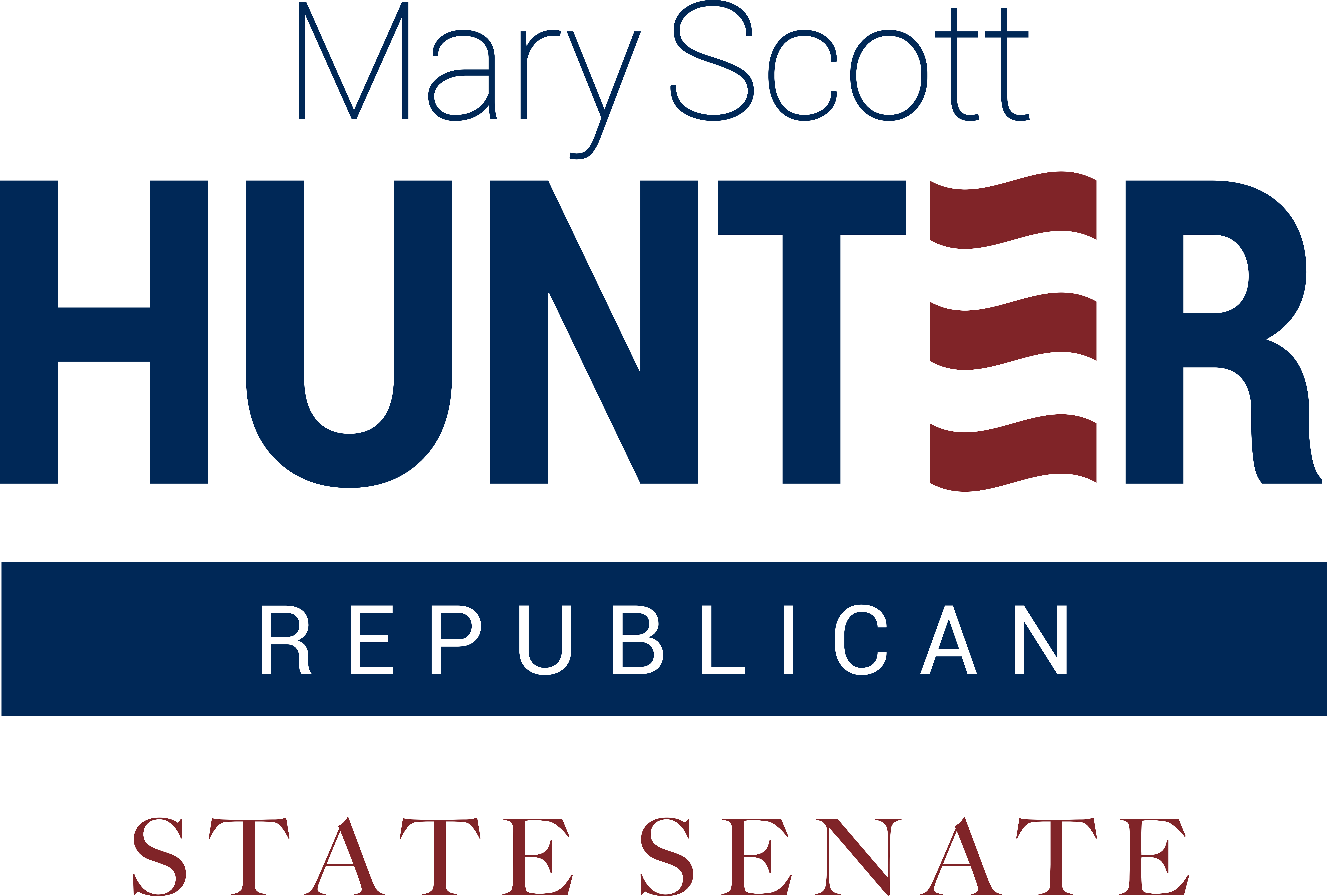 Mary Scott Hunter, State Senate