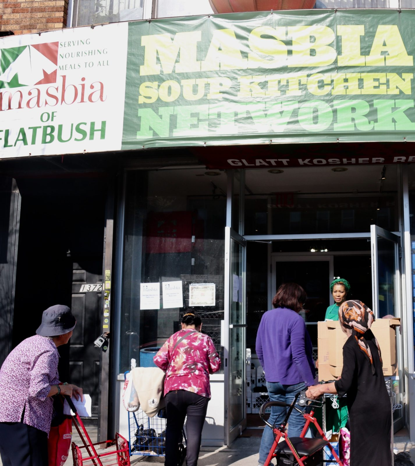 Masbia have been stepping up to help others during the coronavirus pandemic.