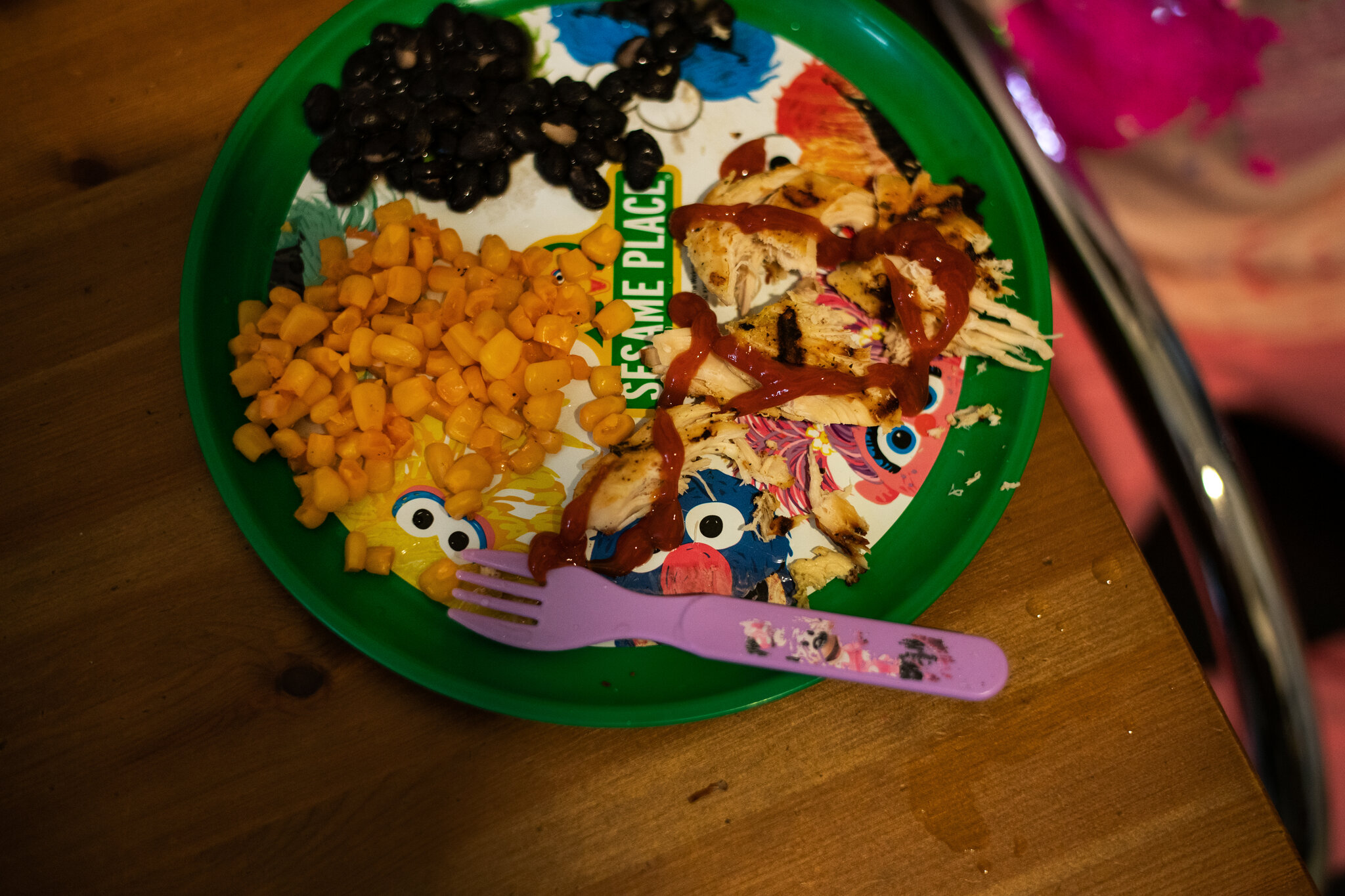 Thanks to Masbia and other nonprofit organizations kids like Trinity have a meal on their table. Photo by Todd Heisler photographer of the New York Times.