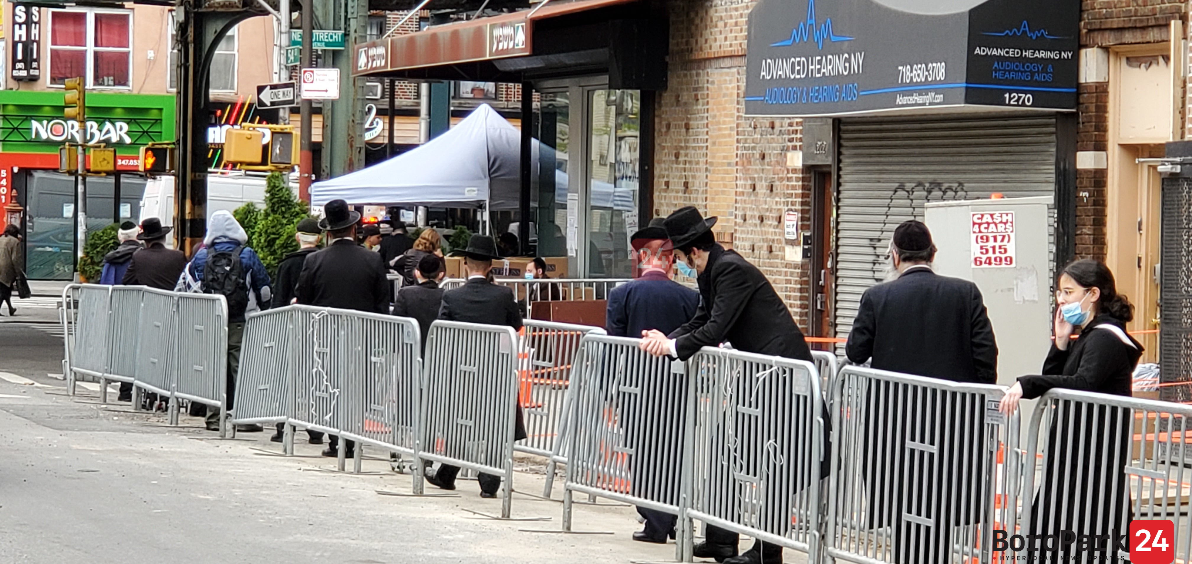 Masbia long lines will reduce due to will open 24 hours a day