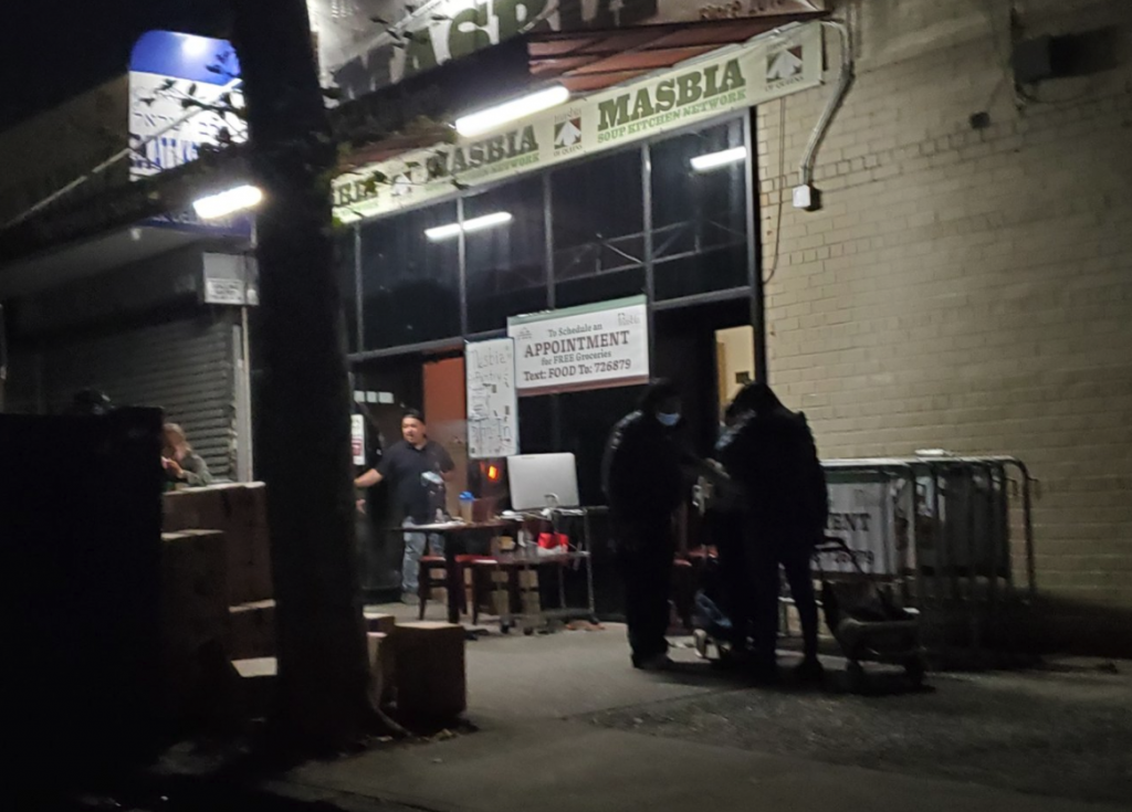 masbia soup kitchen during night operation now serves food 24 hours daily in Brooklyn and queens