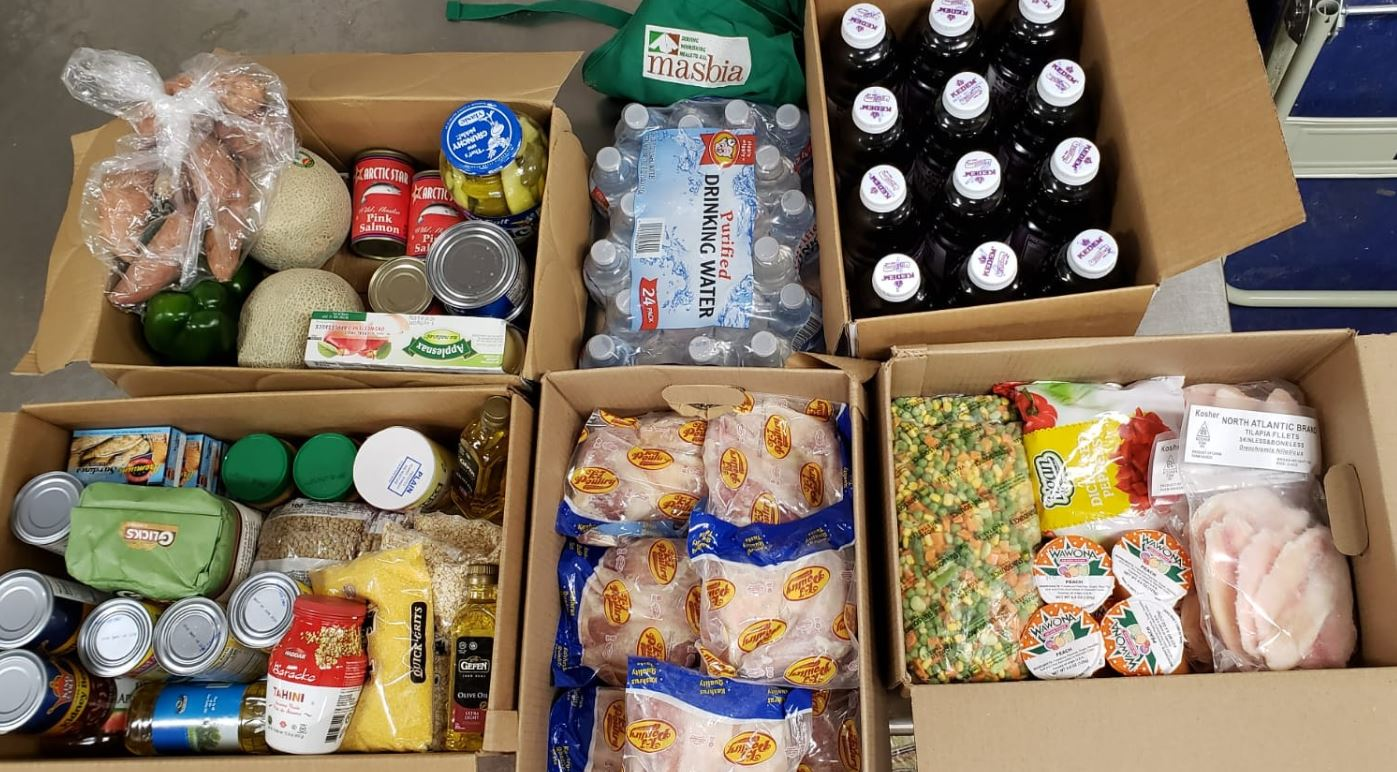 Masbia delivers Grocery Food as soon quarantine starts due to covid-19