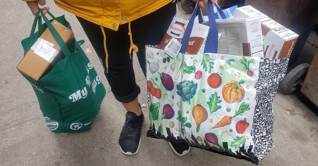 Masbia distributes food during covid-19 breakdown